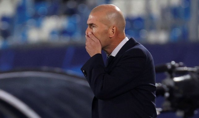 "Real Madrid, Zinedine Zidane: ""No es una vergüenza"""