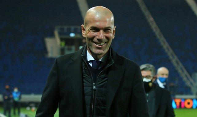 Zinedine Zidane ejerce como técnico del Real Madrid