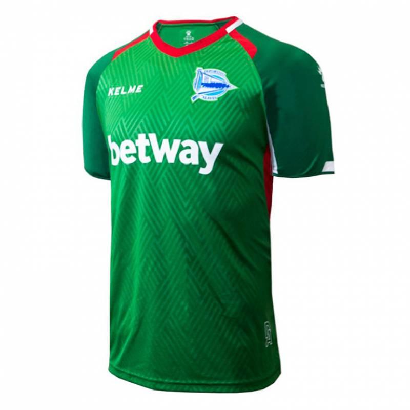 Camiseta Deportivo Alaves exterior 2018/2019