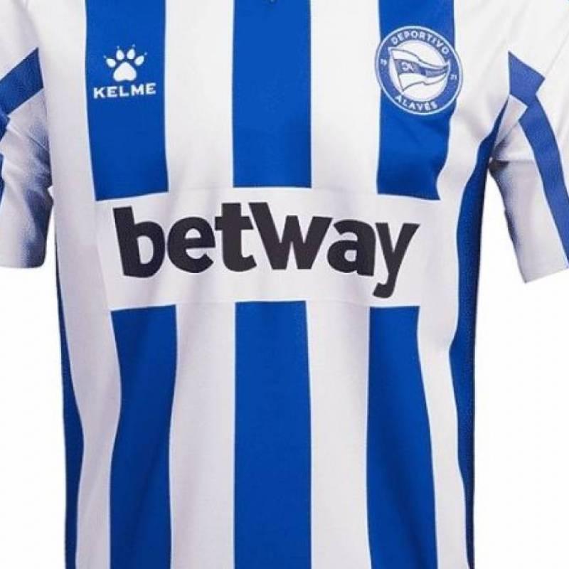Camiseta Deportivo Alavés casa 2020/2021