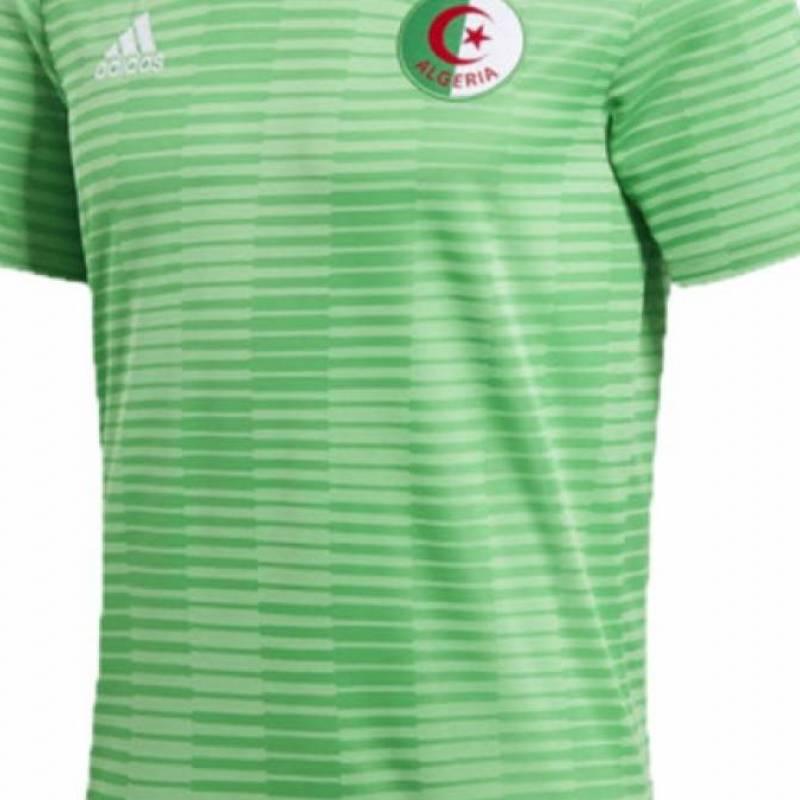 Camiseta Argelia exterior 2018