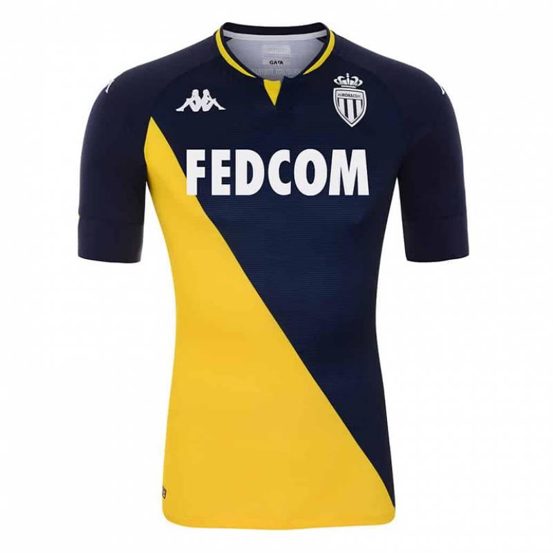 Camiseta AS Monaco exterior 2020/2021