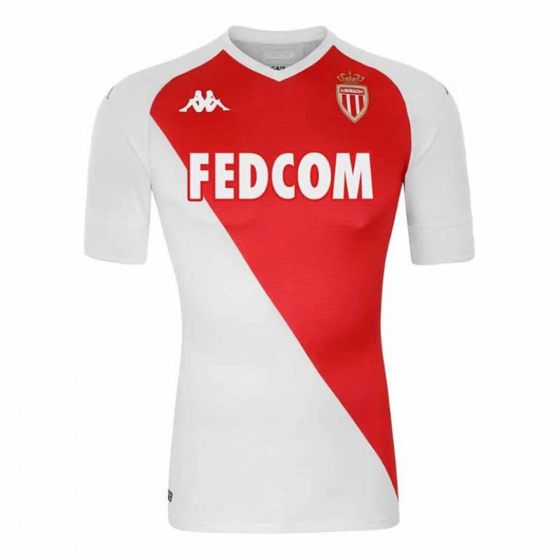 Camiseta AS Monaco casa 2020/2021