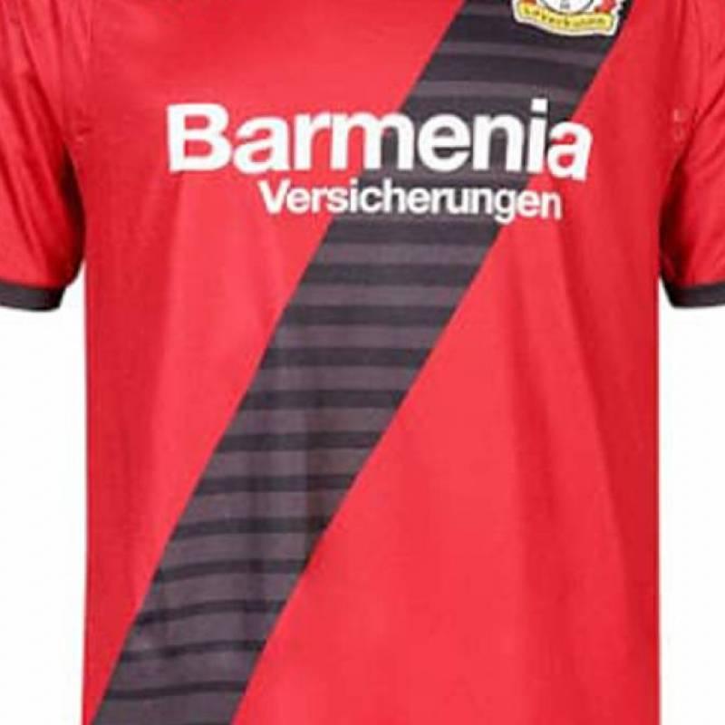 Camiseta Bayer 04 Leverkusen exterior 2017/2018