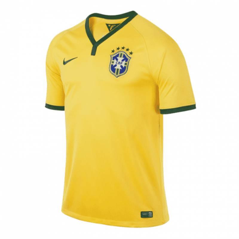 Camiseta Brasil casa 2014