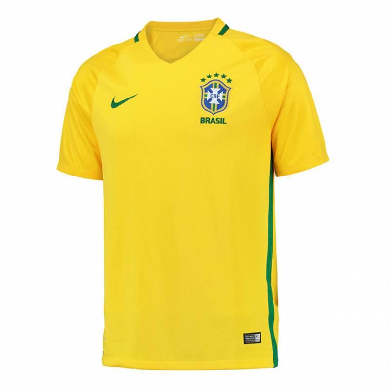 Camiseta Brasil casa 2016