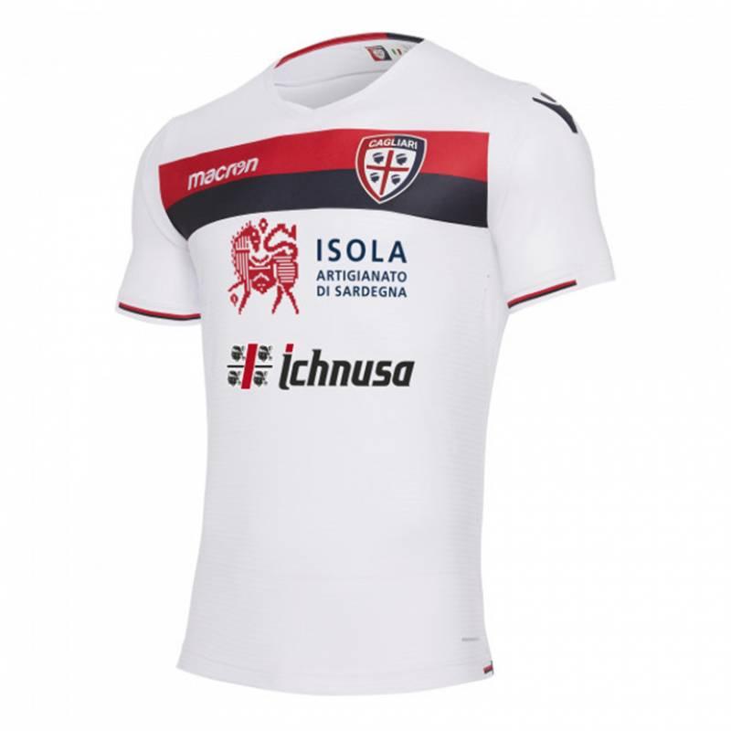 Camiseta Cagliari exterior 2017/2018
