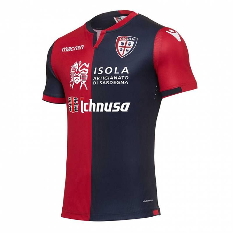 Camiseta Cagliari casa 2017/2018