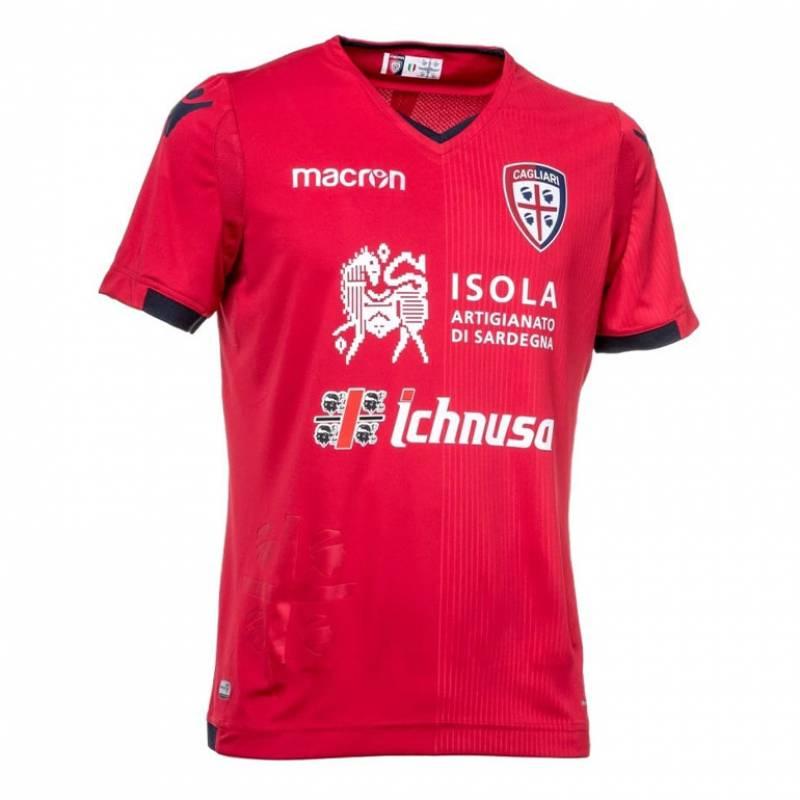 Camiseta Cagliari tercera 2017/2018