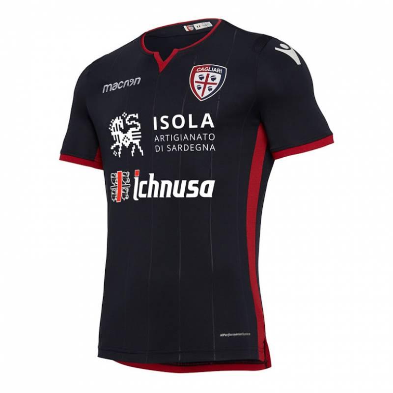 Camiseta Cagliari tercera 2018/2019