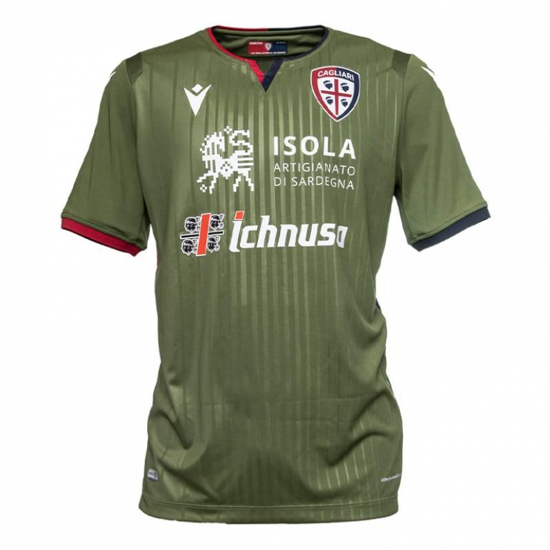 Camiseta Cagliari tercera 2019/2020