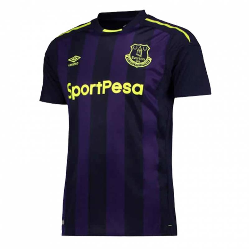 Camiseta Everton tercera 2017/2018