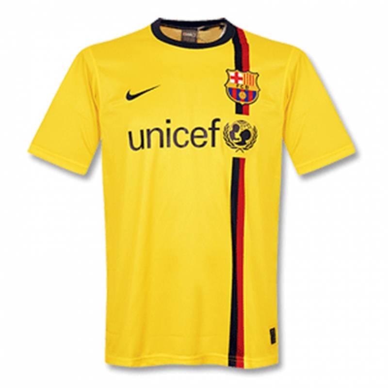 Camiseta FC Barcelona exterior 2008/2009