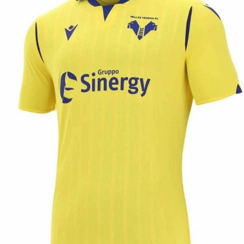 Camiseta Hellas Verona exterior 2020/2021