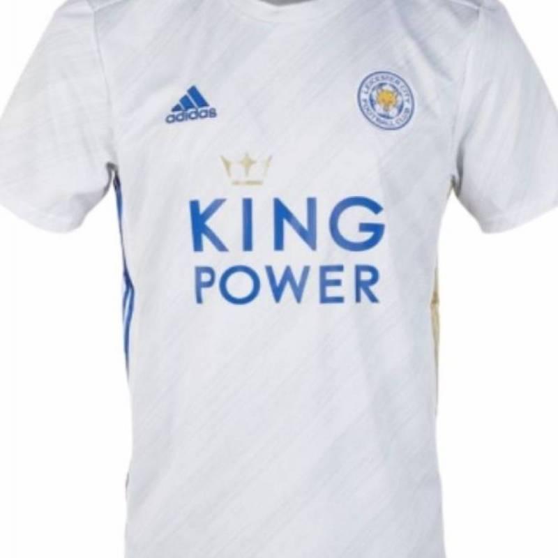 Camiseta Leicester exterior 2020/2021