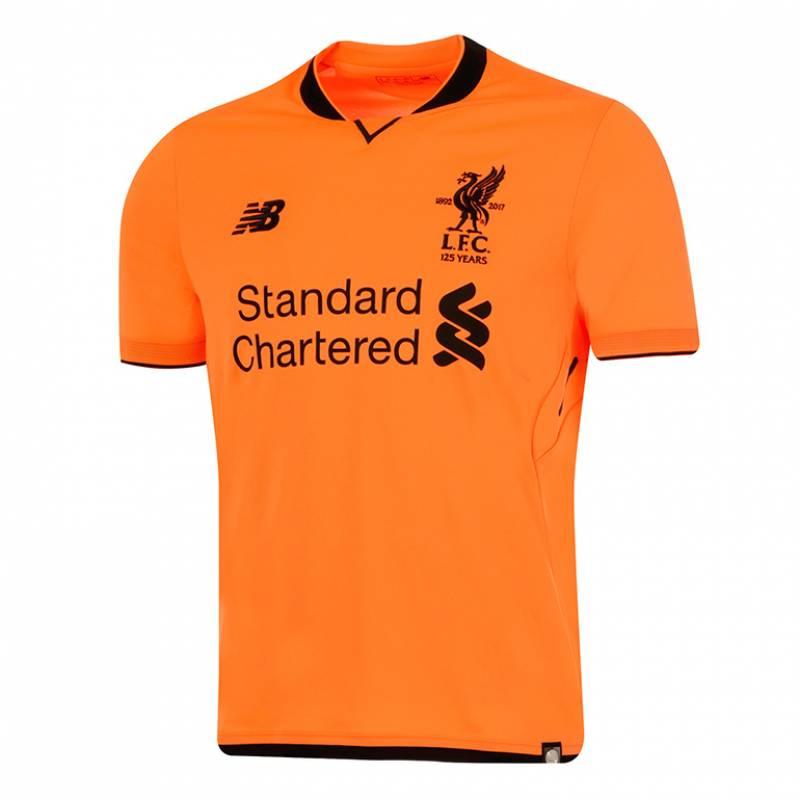 Camiseta Liverpool FC tercera 2017/2018