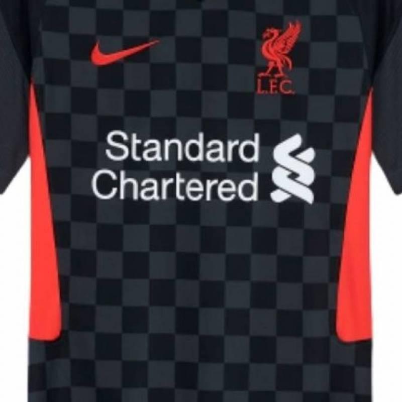Camiseta Liverpool FC tercera 2020/2021