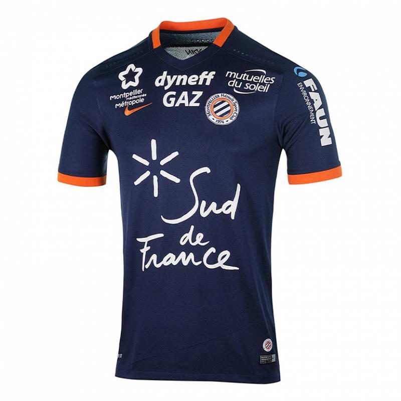 Camiseta Montpellier casa 2016/2017