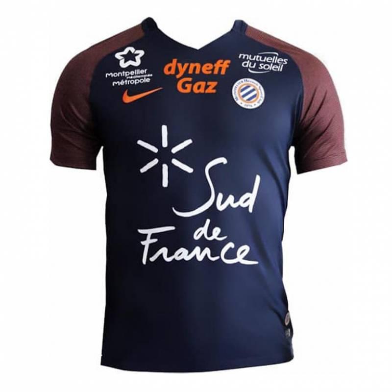 Camiseta Montpellier casa 2017/2018
