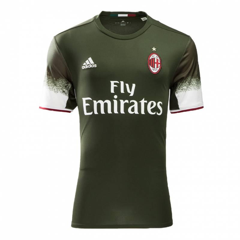Camiseta Milan tercera 2016/2017