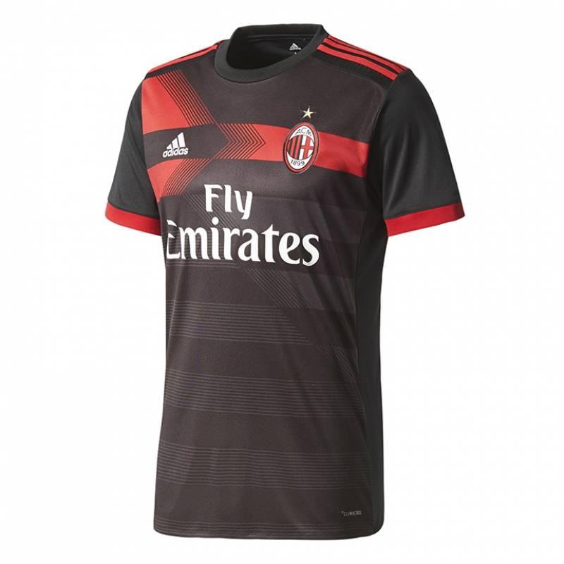 Camiseta Milan tercera 2017/2018