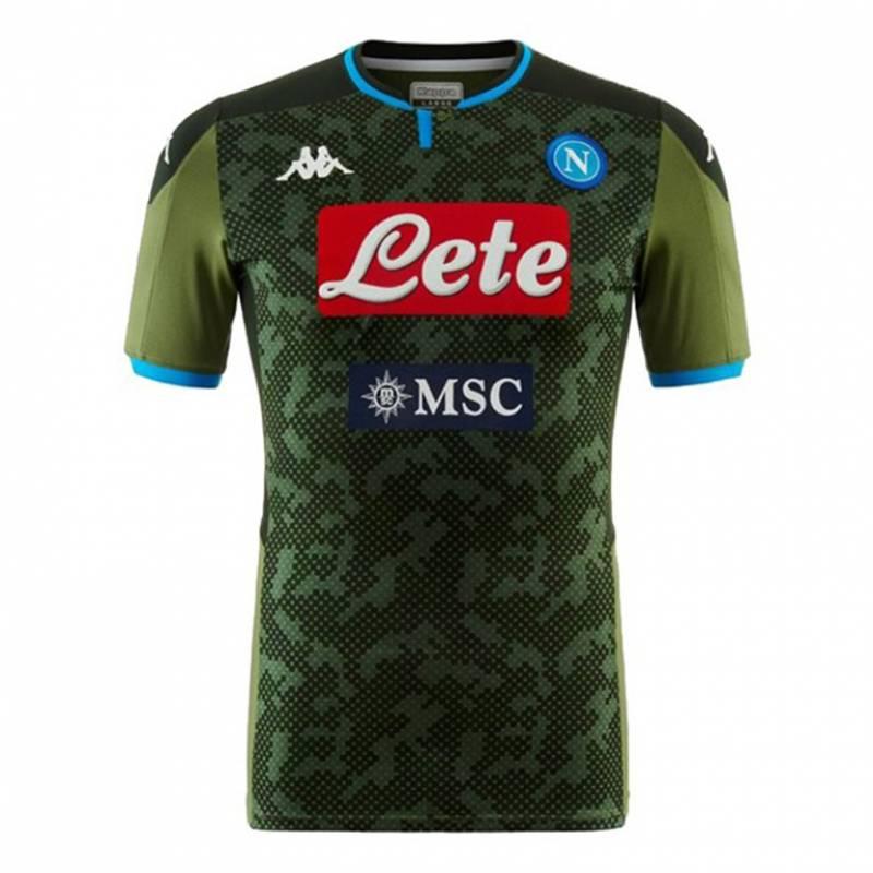 Camiseta Nápoles exterior 2019/2020
