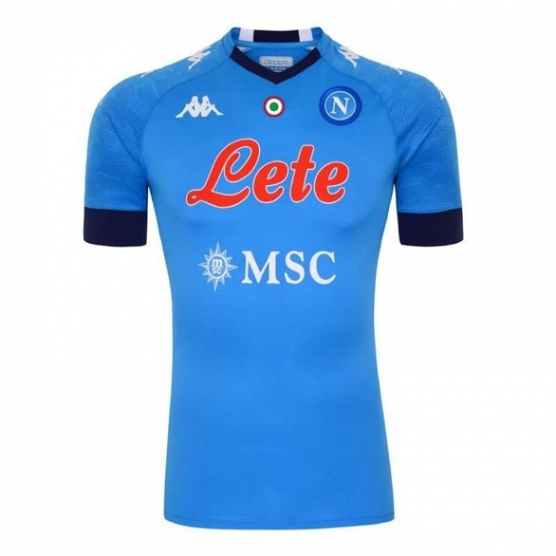 Camiseta Nápoles casa 2020/2021
