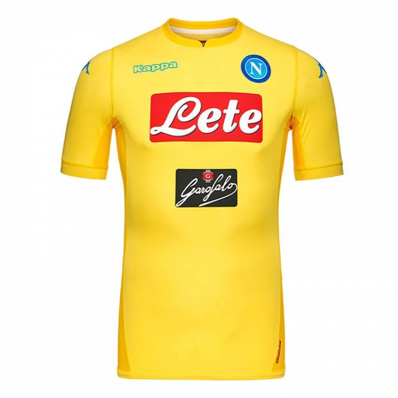 Camiseta Nápoles tercera 2017/2018