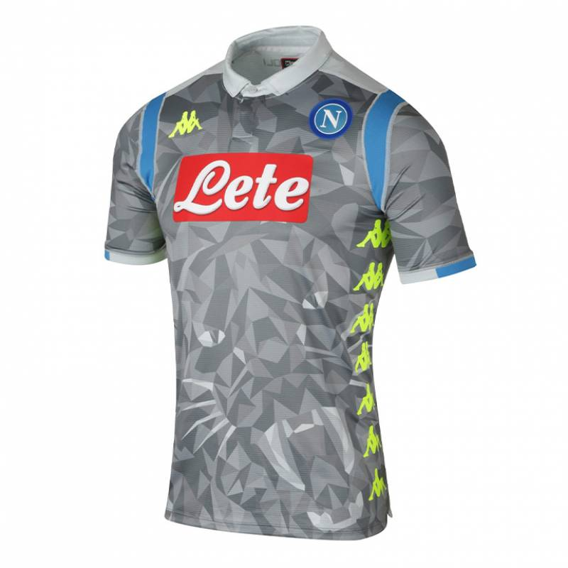 Camiseta Nápoles tercera 2018/2019