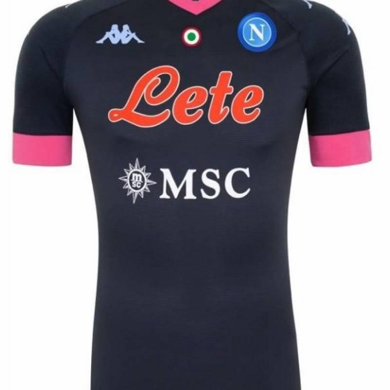 Camiseta Nápoles tercera 2020/2021