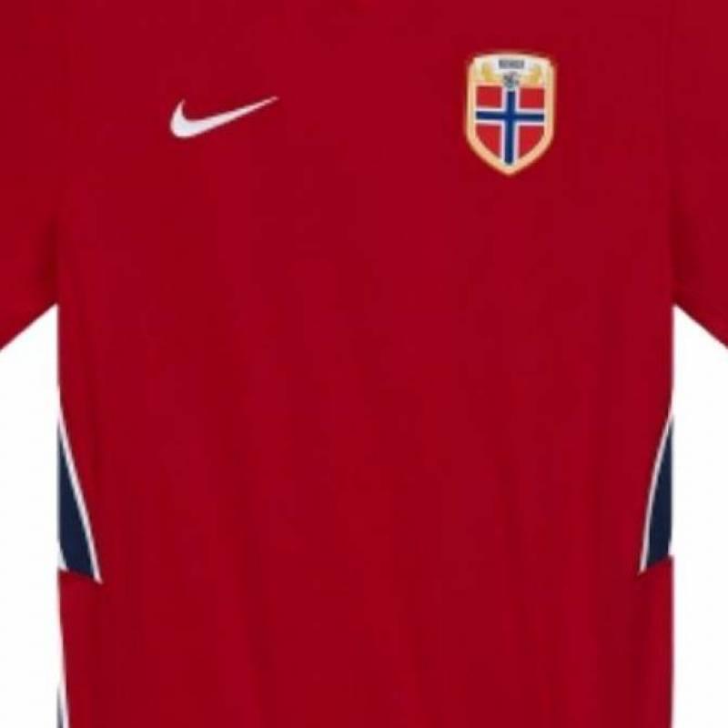 Camiseta Noruega casa 2020