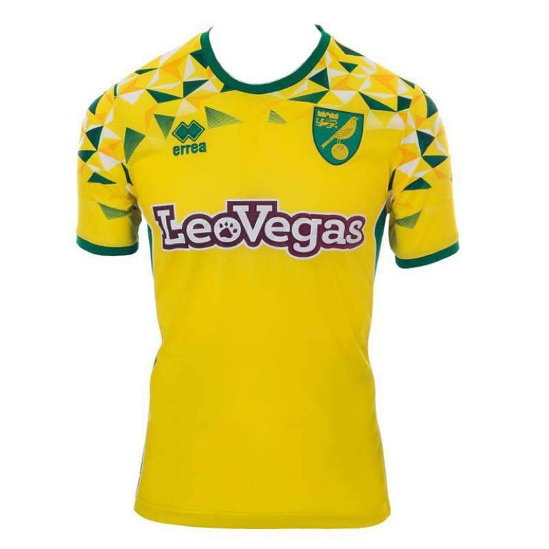 Camiseta Norwich City casa 2018/2019