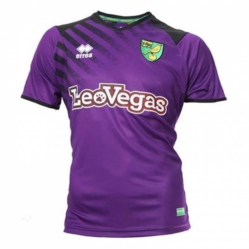 Camiseta Norwich City tercera 2017/2018
