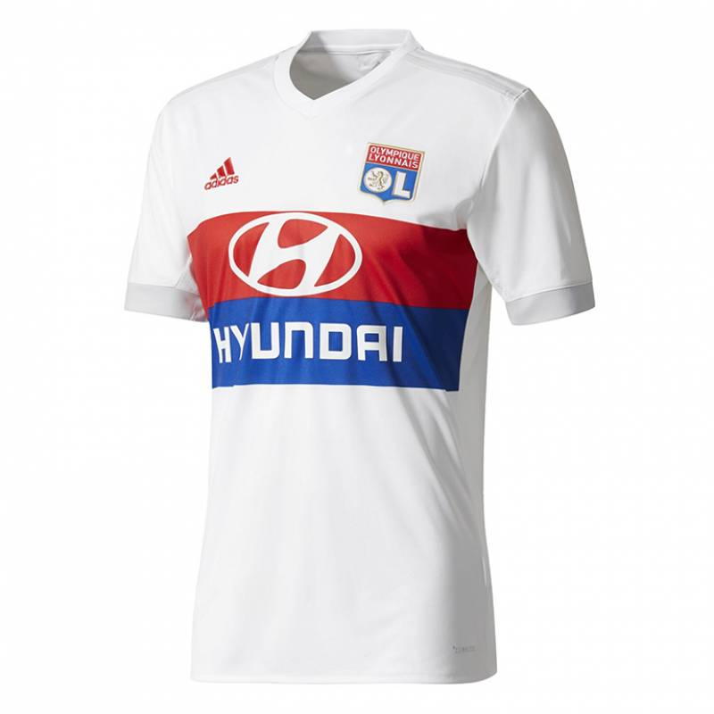 Camiseta Olympique Lyonnais casa 2017/2018