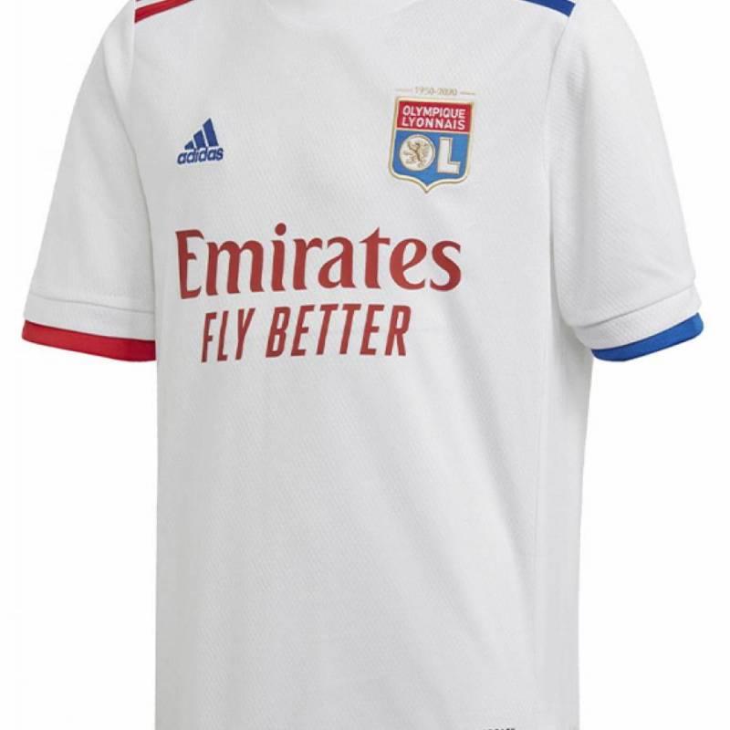 Camiseta Olympique Lyonnais casa 2020/2021