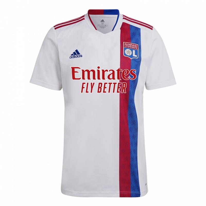 Camiseta Olympique Lyonnais casa 2021/2022