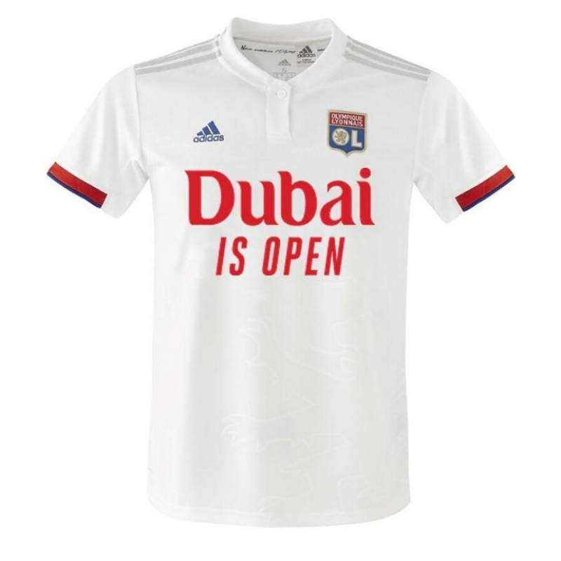Camiseta Olympique Lyonnais evento 2020/2021