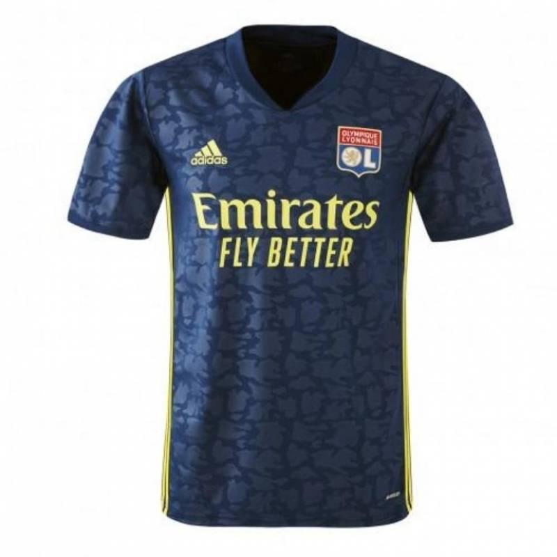 Camiseta Olympique Lyonnais tercera 2020/2021