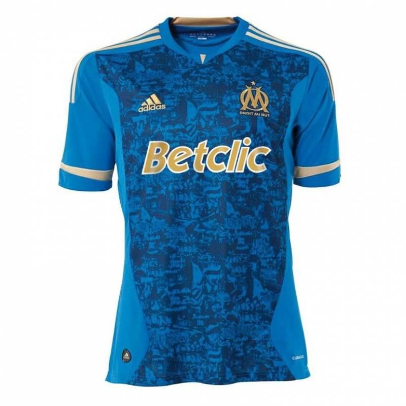 Camiseta Olympique de Marsella exterior 2011/2012