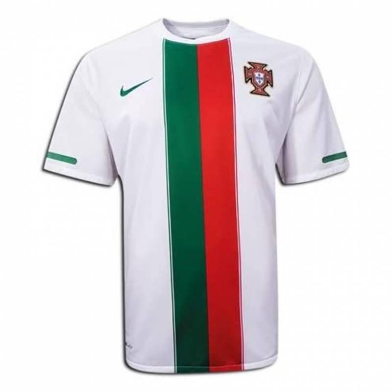 Camiseta Portugal exterior 2010