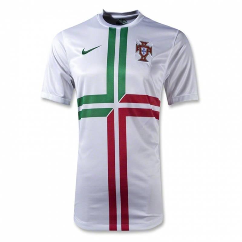 Camiseta Portugal exterior 2012