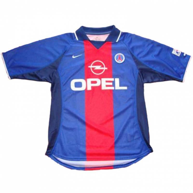 Camiseta Paris Saint-Germain casa 2000/2001