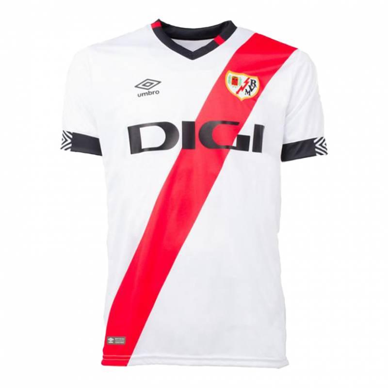 Camiseta Rayo Vallecano casa 2021/2022