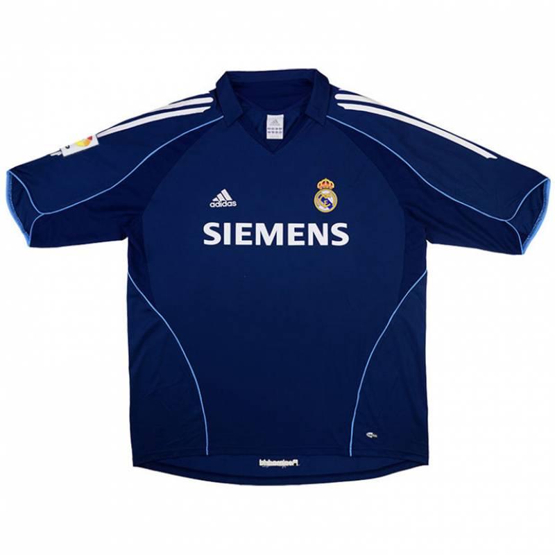 Camiseta Real Madrid CF exterior 2005/2006
