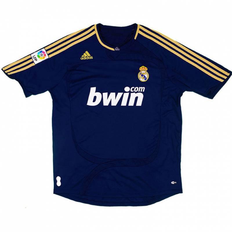 Camiseta Real Madrid CF exterior 2007/2008