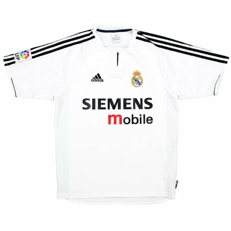 Camiseta Real Madrid CF casa 2003/2004