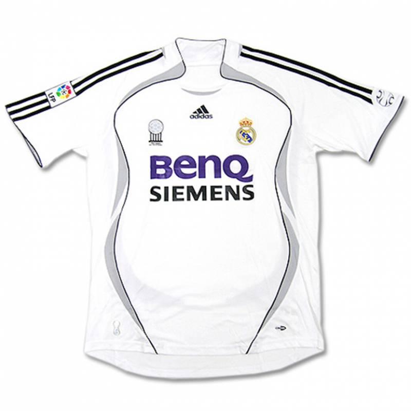 Camiseta Real Madrid CF casa 2006/2007