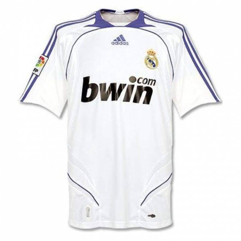 Camiseta Real Madrid CF casa 2007/2008