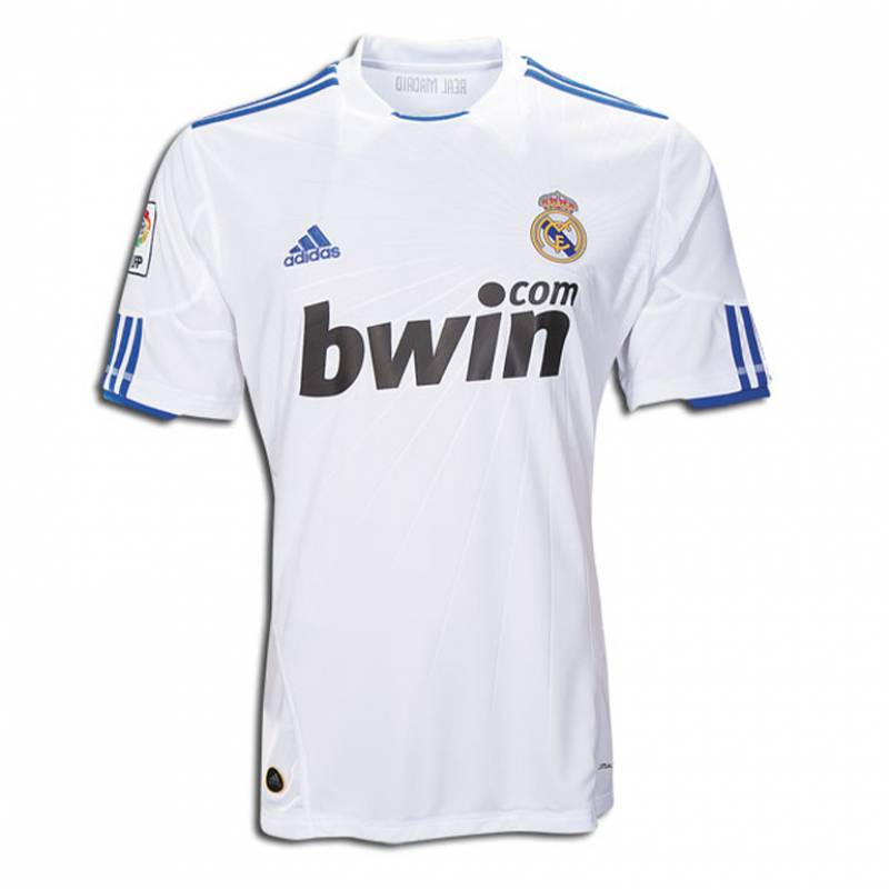 Camiseta Real Madrid CF casa 2010/2011