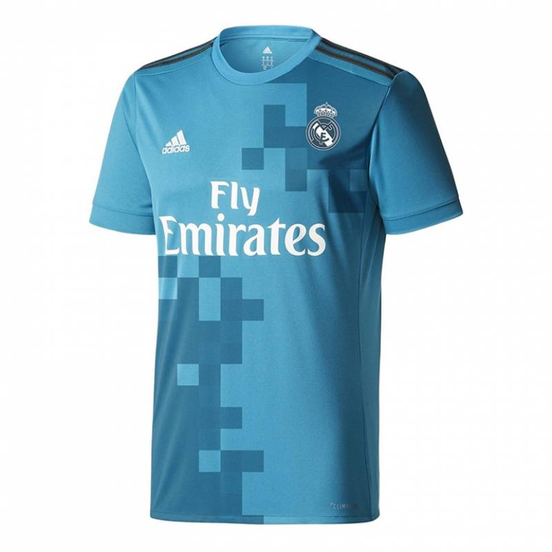 Camiseta Real Madrid CF tercera 2017/2018